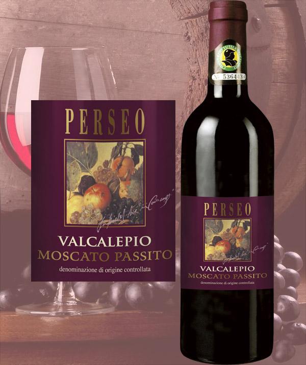 Perseo Valcalepio DOC Moscato Passito - Cantina Bergamasca
