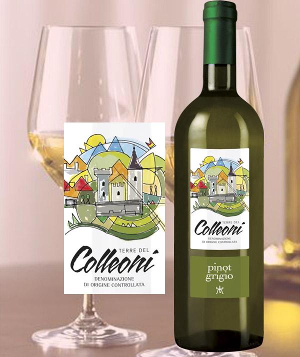 Pinot Grigio Terre del Colleoni DOC - Cantina Bergamasca