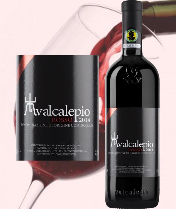 Valcalepio Rosso DOC - Cantina Bergamasca